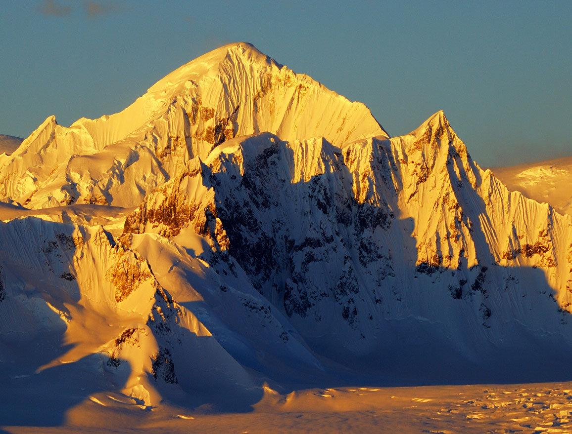 Антарктида. Ледник Шеклтона