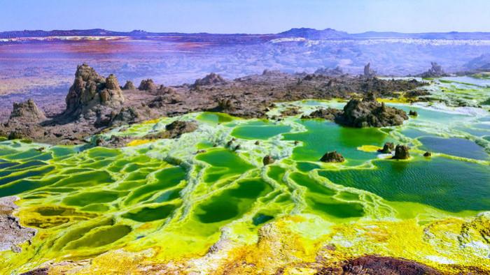 Геотермальные озера Восточно-Африканской рифтовой долины
